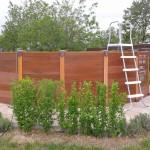 """Ons """"oude"""" plonsbad, dat we elk jaar weer moesten opbouwen en afbreken"""