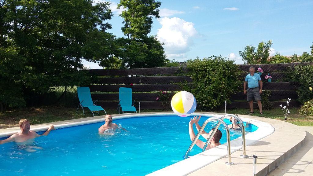 heerlijk ruim zwembad